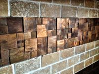 unique copper metal backsplash tiles with copper mosaic is ...