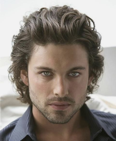 2013 Hairstyles For Men With Wavy Hair Men Long Hairstyles Curly