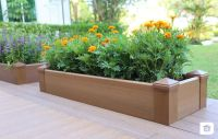 Wood Planter Box | Composite Decking | NewTechWood ...