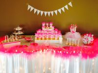 Tutu themed baby shower!!! Candy table.   TUTU themed baby ...