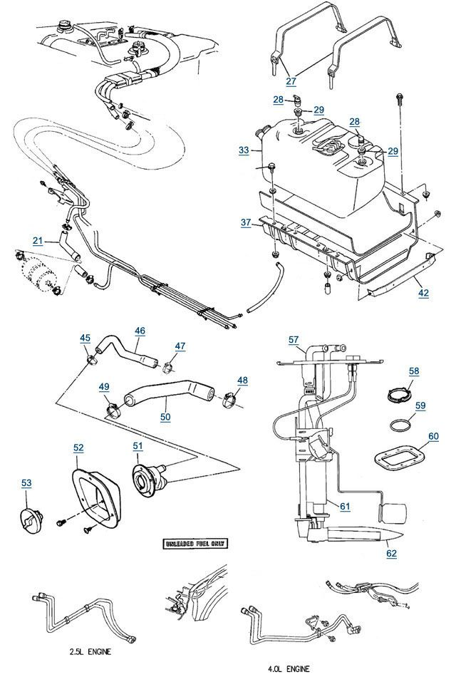 Wiring Diagram 1997 Jeep Wrangler Fuel Gauge