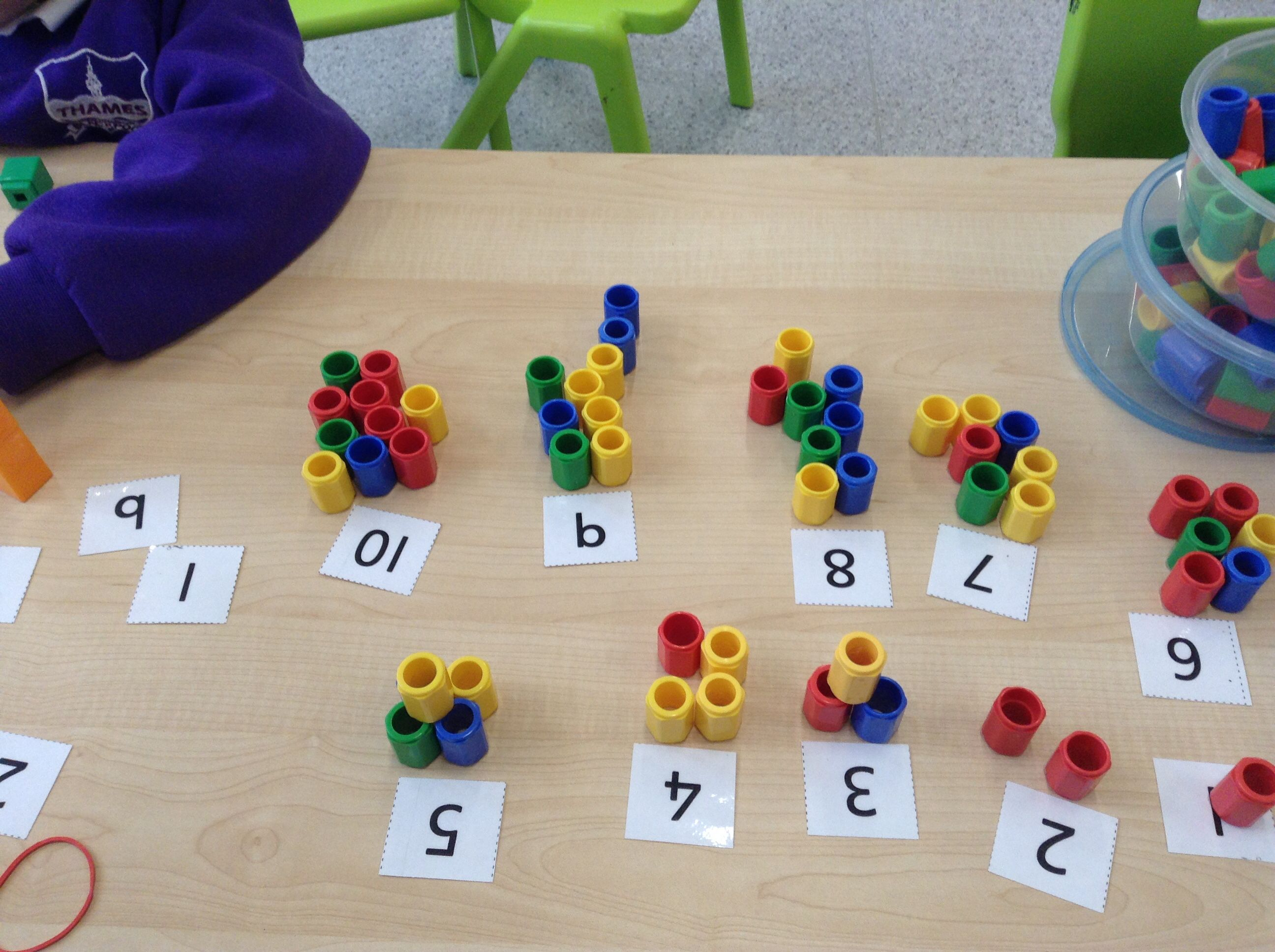 Numicon Pegs Counting