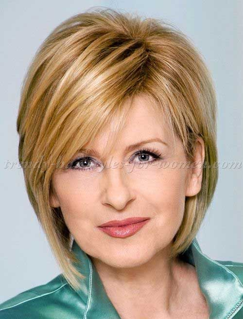 This Layered Blonde Bob Hairstyle Is A Perfect Look For Special