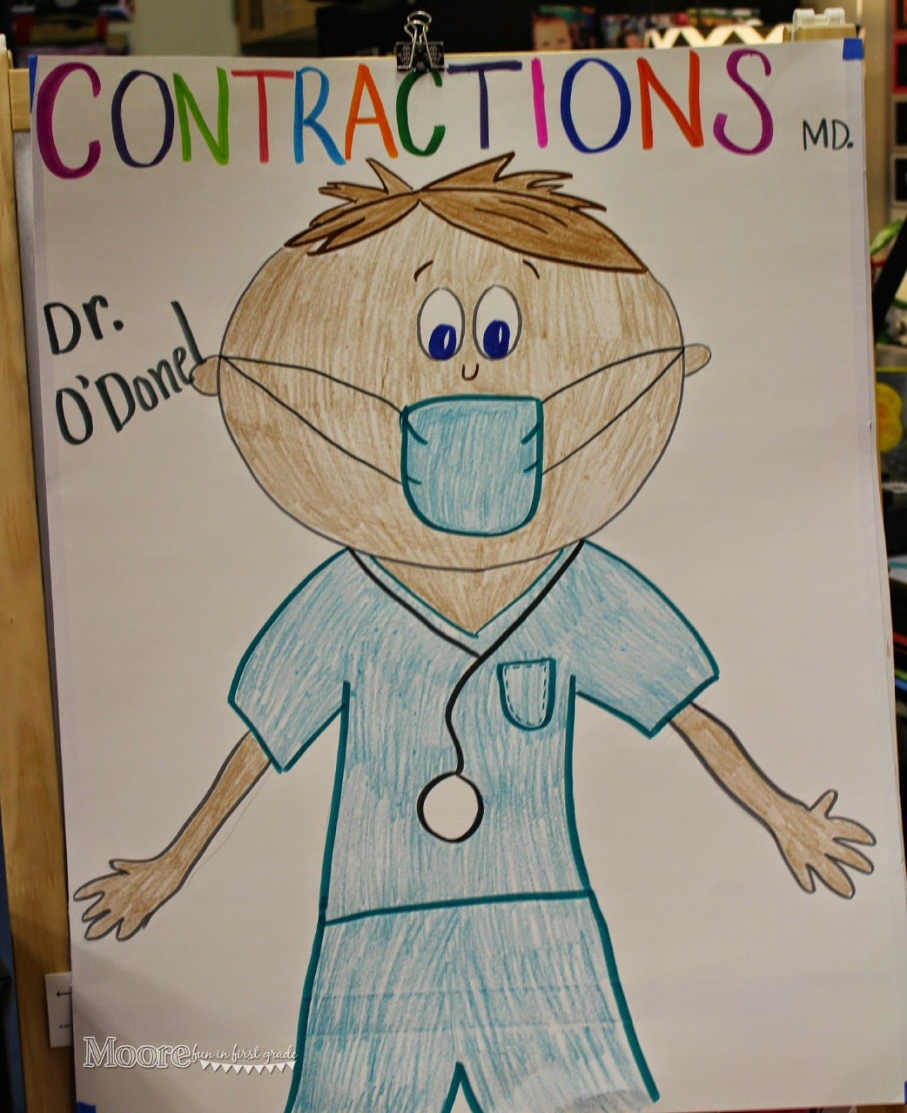 Contractions Are Way More Fun When You Can Pretend To Be A Surgeon My Kiddos Did So Great With