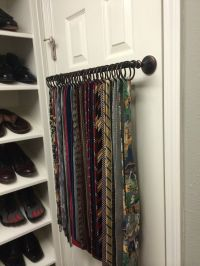 1000+ ideas about Scarf Rack on Pinterest | Scarf Storage ...