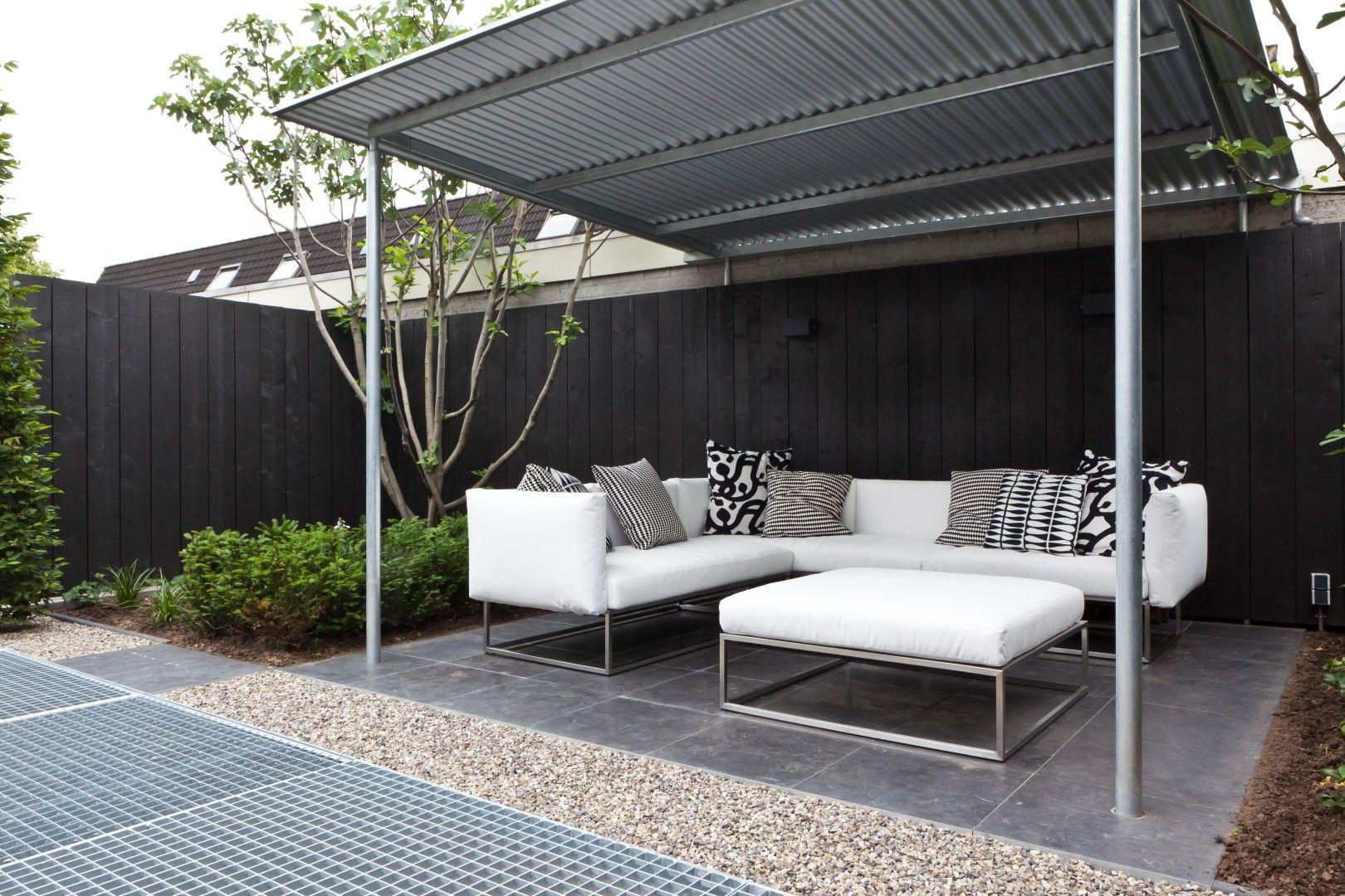 Kleine moderne tuin hoekwoning  Kleine tuin  Pinterest