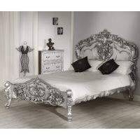 Beautiful Silver Bedroom Furniture : Great Silver Bedroom