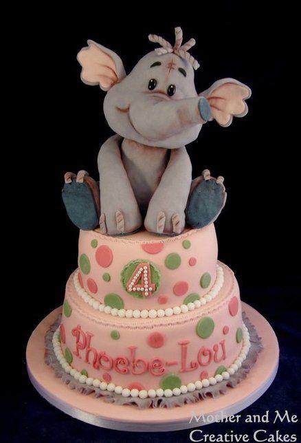 It Elephant Wings Birthday Cake