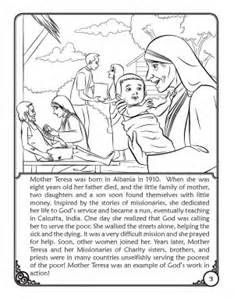 Blessed Mother Teresa Coloring Pages Free sketch template