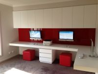 iMac's Wall Mounted | iMac Home Office | Pinterest | Wall ...