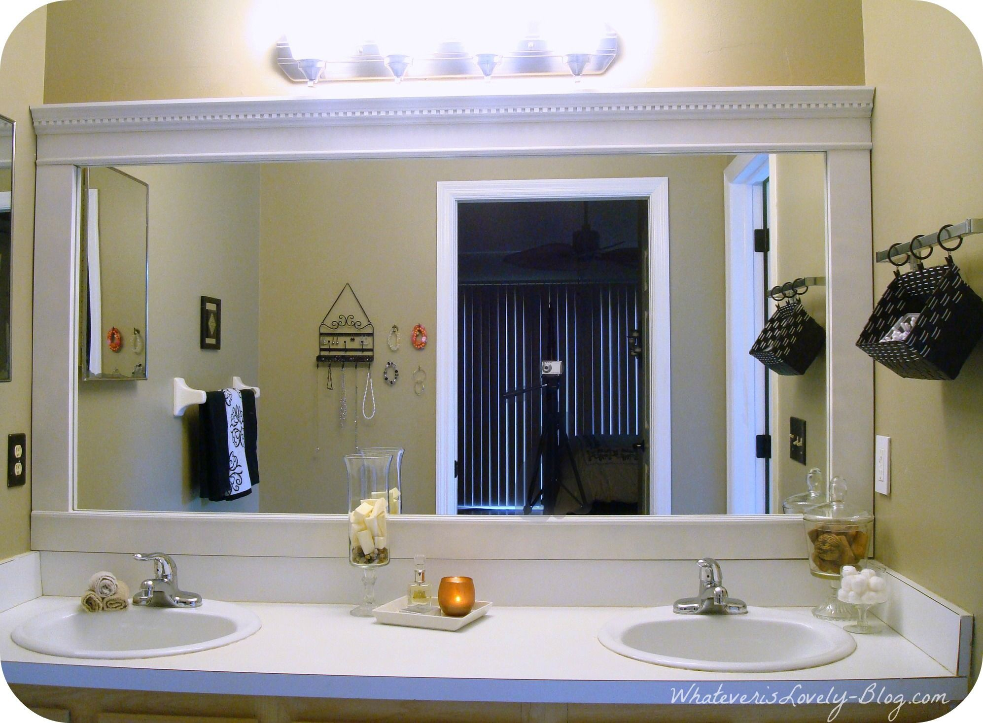 5 tips to create a bathroom that sells -- get a bigger mirror with