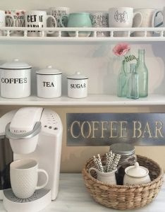 Nice elegant home coffee bar design and decor ideas you must have in your also rh za pinterest
