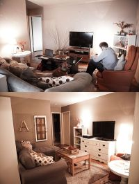 Before/After Small Living Room Design | Home is where the ...