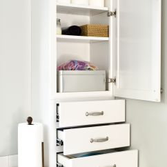 Drawers Or Cabinets In Kitchen Painting Black This Drawer Stack And Wall Cabinet Combination By