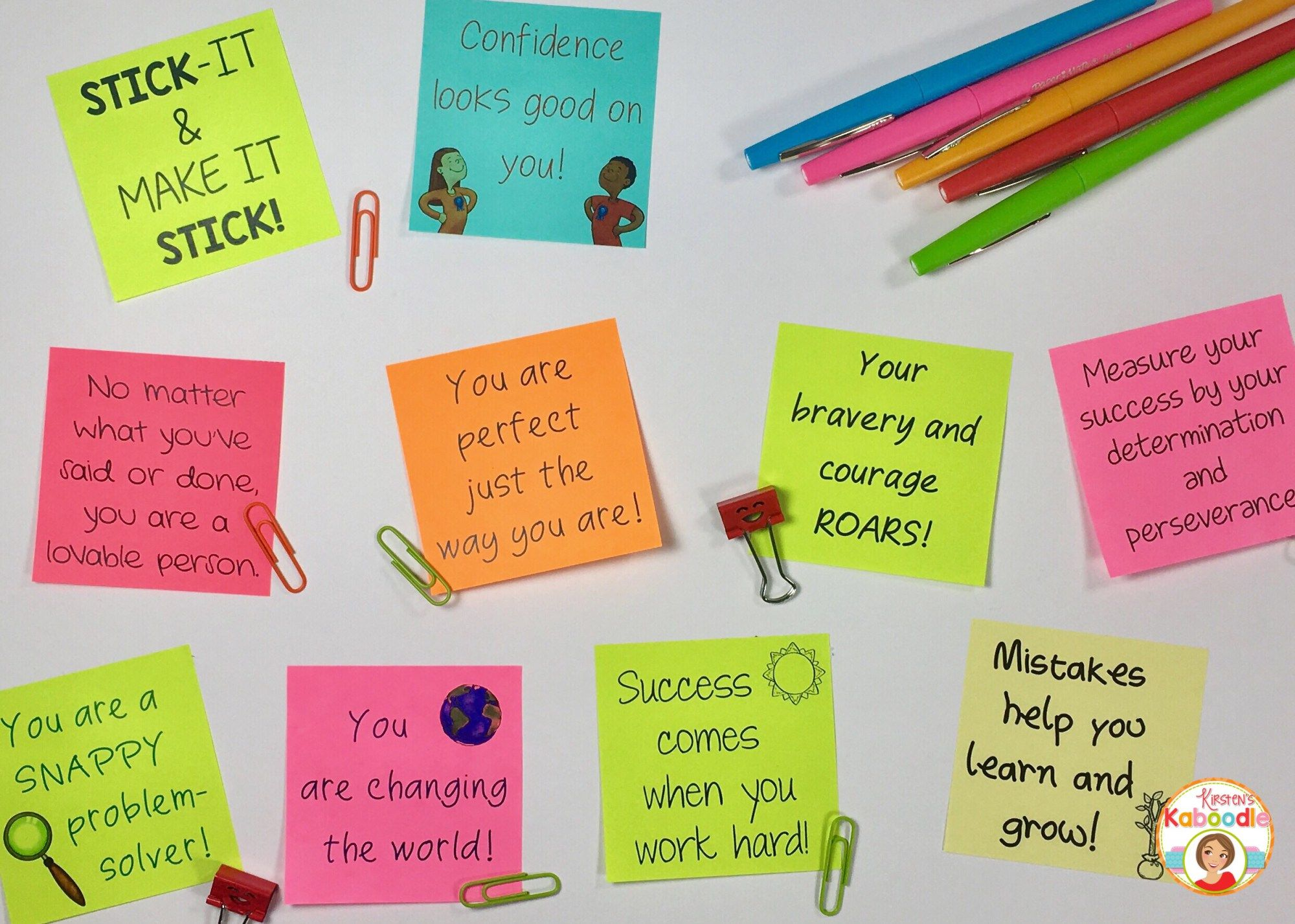 Fun Ways To Deliver Positive Messages For Students