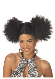 1970s negro hair black disco