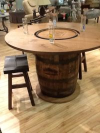 whiskey barrel coffee table | Miniature Tutorial ...