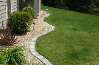 lawn edging | Paver Edging | Home | Pinterest | Gardens ...