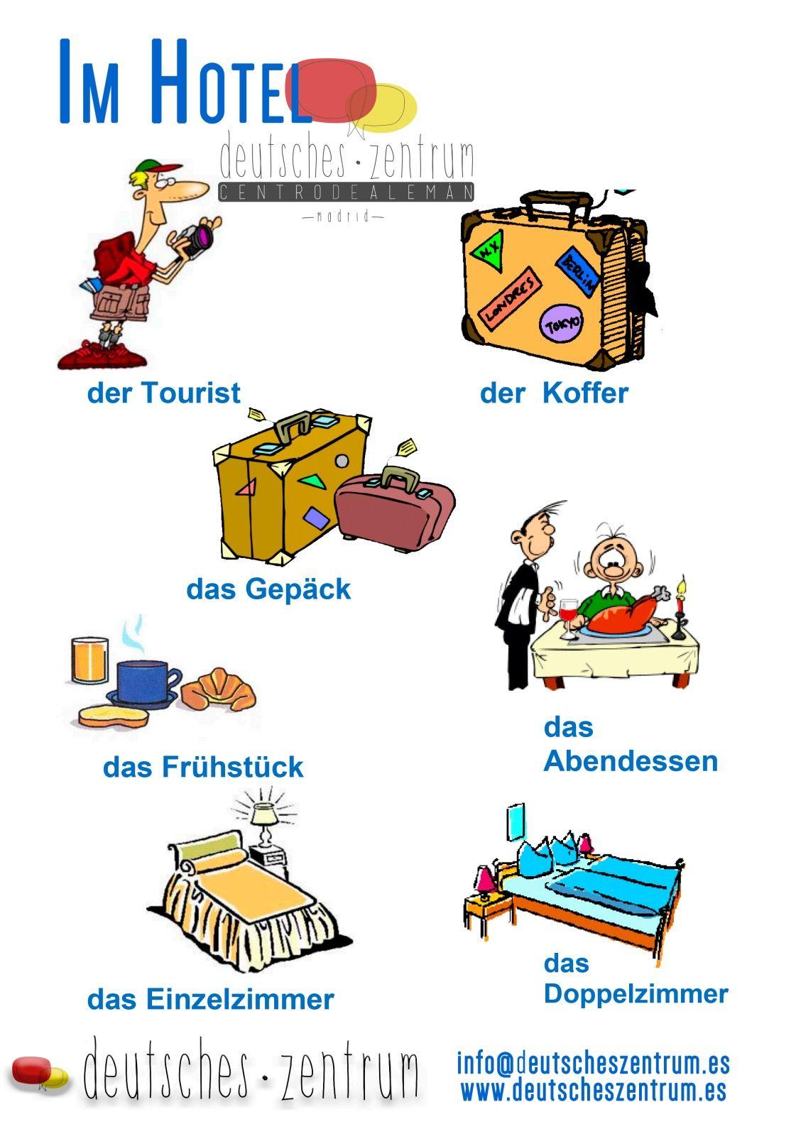 Im Hotel Deutsch Wortschatz Grammatik German Daf