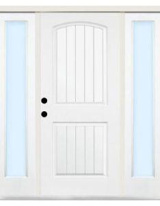 Steves  sons premium panel plank primed white steel entry door with sidelites st also in  rh pinterest