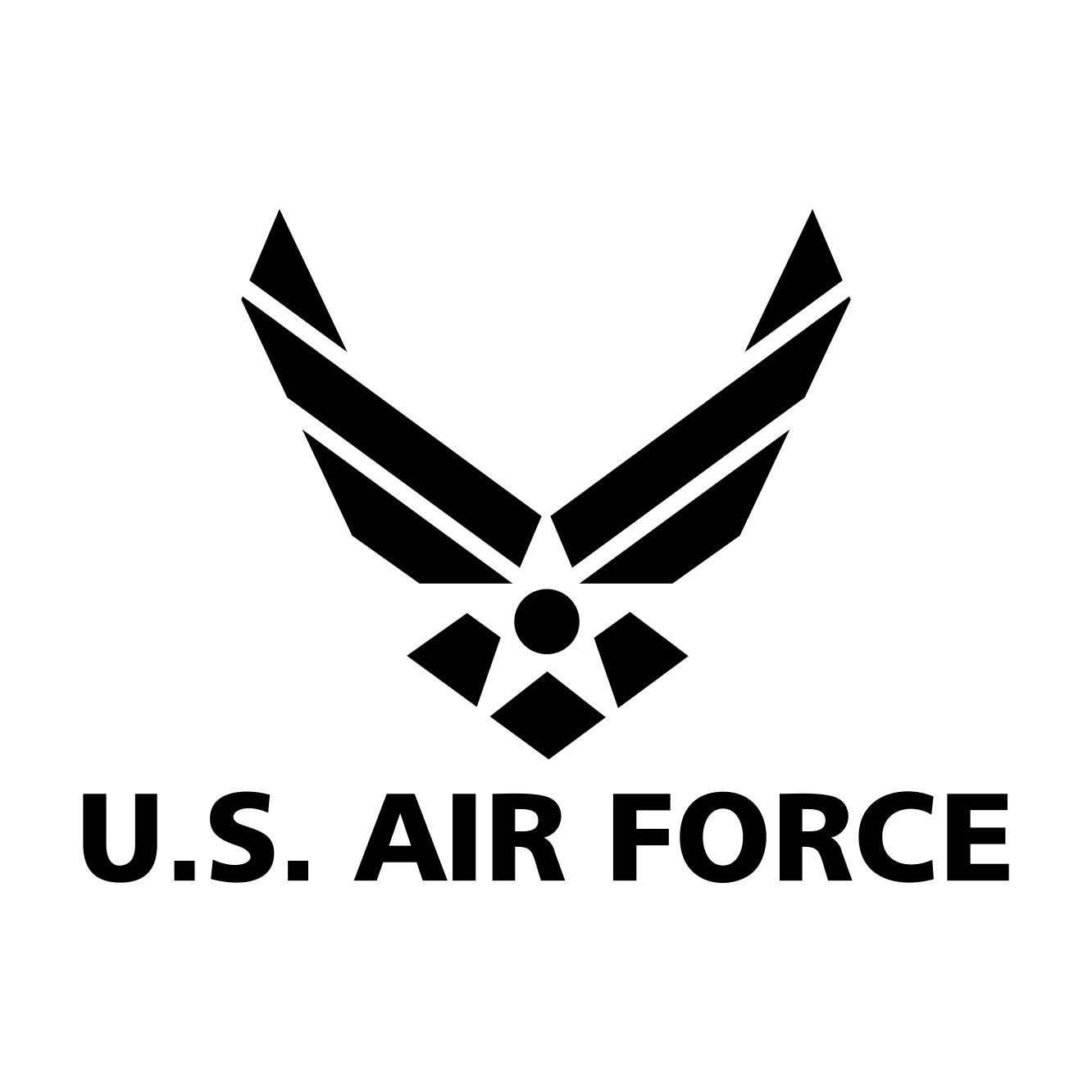 Us Air Force Logo Graphics Svg Dxf Eps Cdr Ai