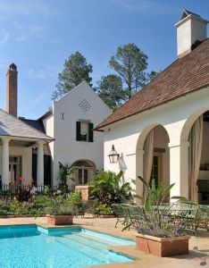 Architect portfolio by ken tate dering hall also architecture french creole pool house rh pinterest
