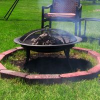 Tons of Deals Decor | Portable Outdoor Fire Pit with ...