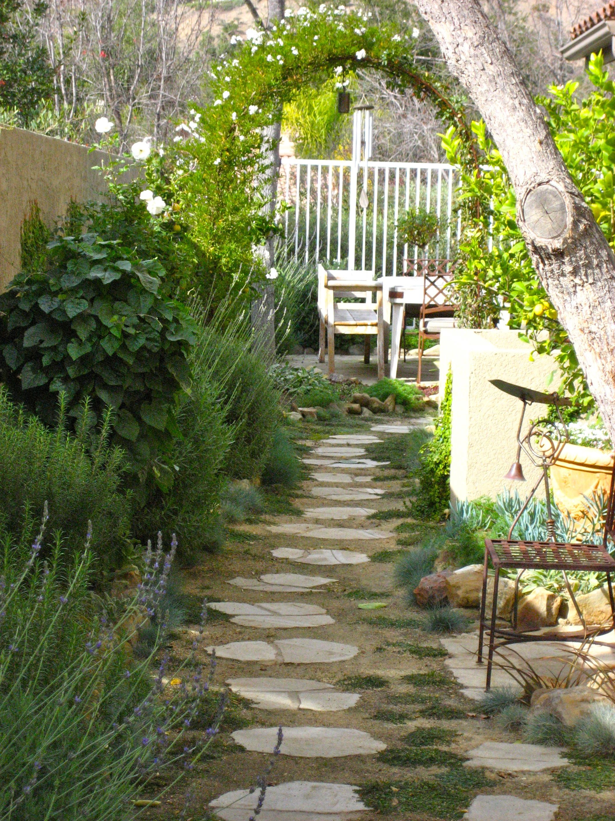 Landscaping Idea For The Side Of The House Description From