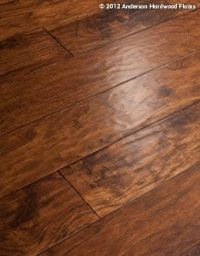 Hand scraped, rustic but modern. Anderson Hardwood Floors ...