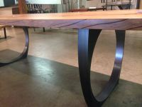 blackened steel table legs | Shine Penthouse | Pinterest ...