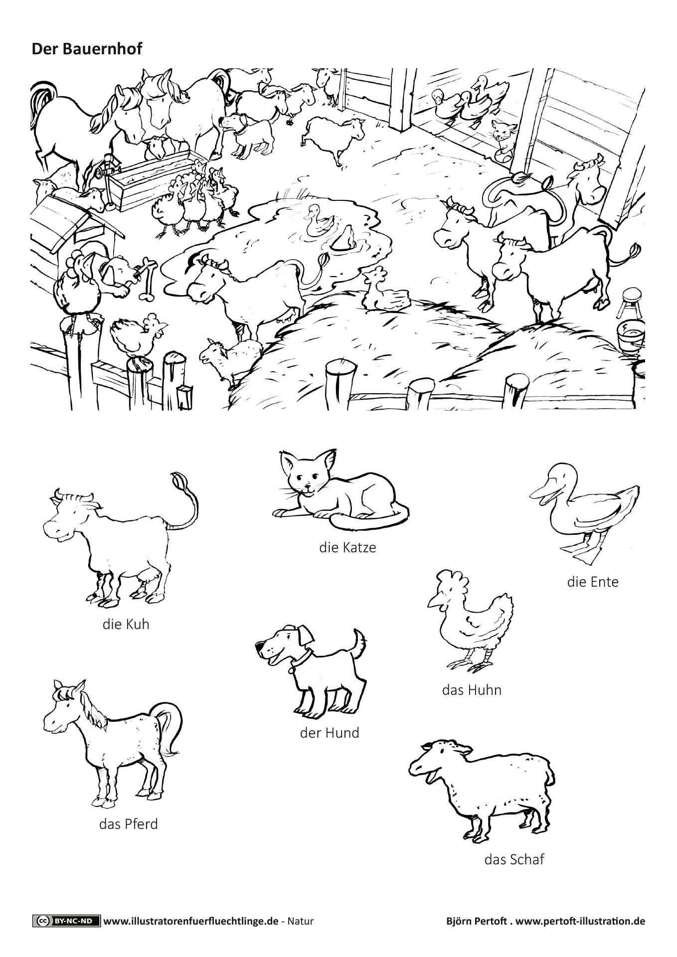 Download Als Natur Bauernhof Haustiere Nutztiere