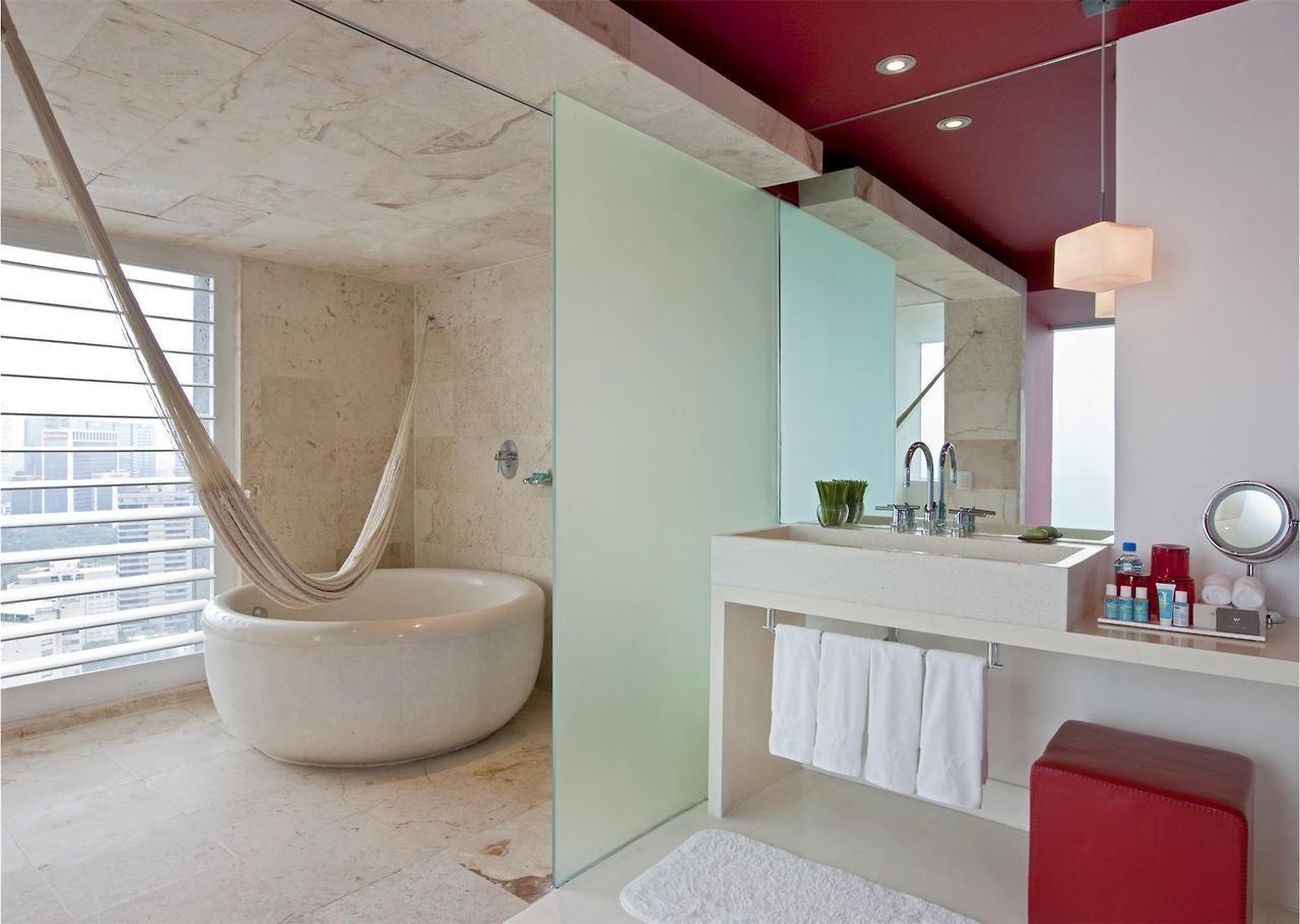 Bathroom Hammock At The W Mexico City Travel