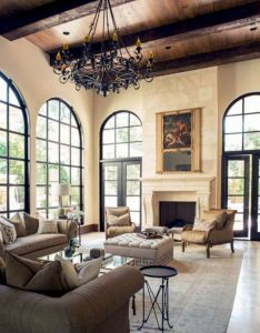 mediterranean living room decor interior design also awesome rh pinterest