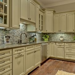 Green Kitchen Cabinet Doors Hotels With In Miami Amazing Refinished Cabinets To White Painted