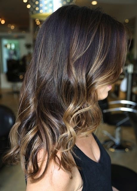 Brown Hair Light Brown Highlights Pictures