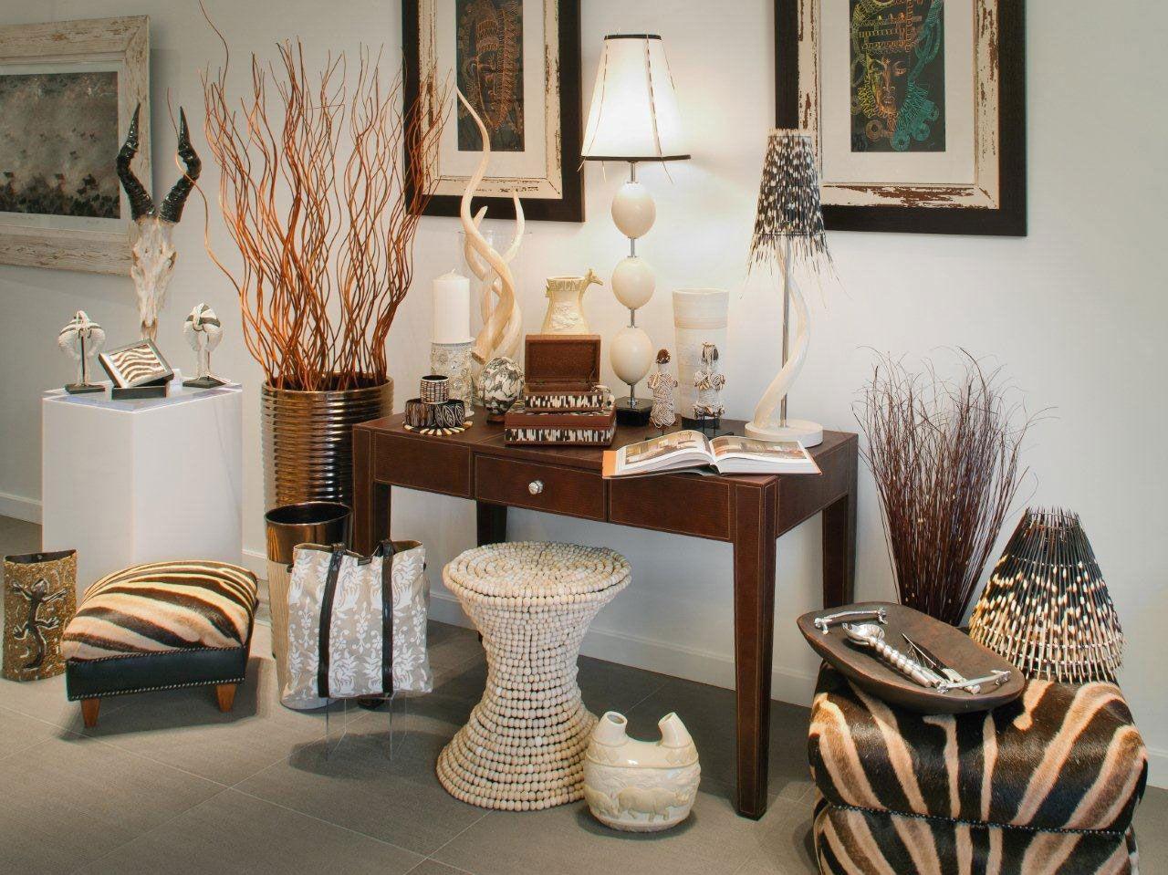 Interior Design Of African Safari Decor And House Design African