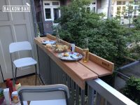 Balkon.bar. Dinner. | Balkonbarren | Pinterest