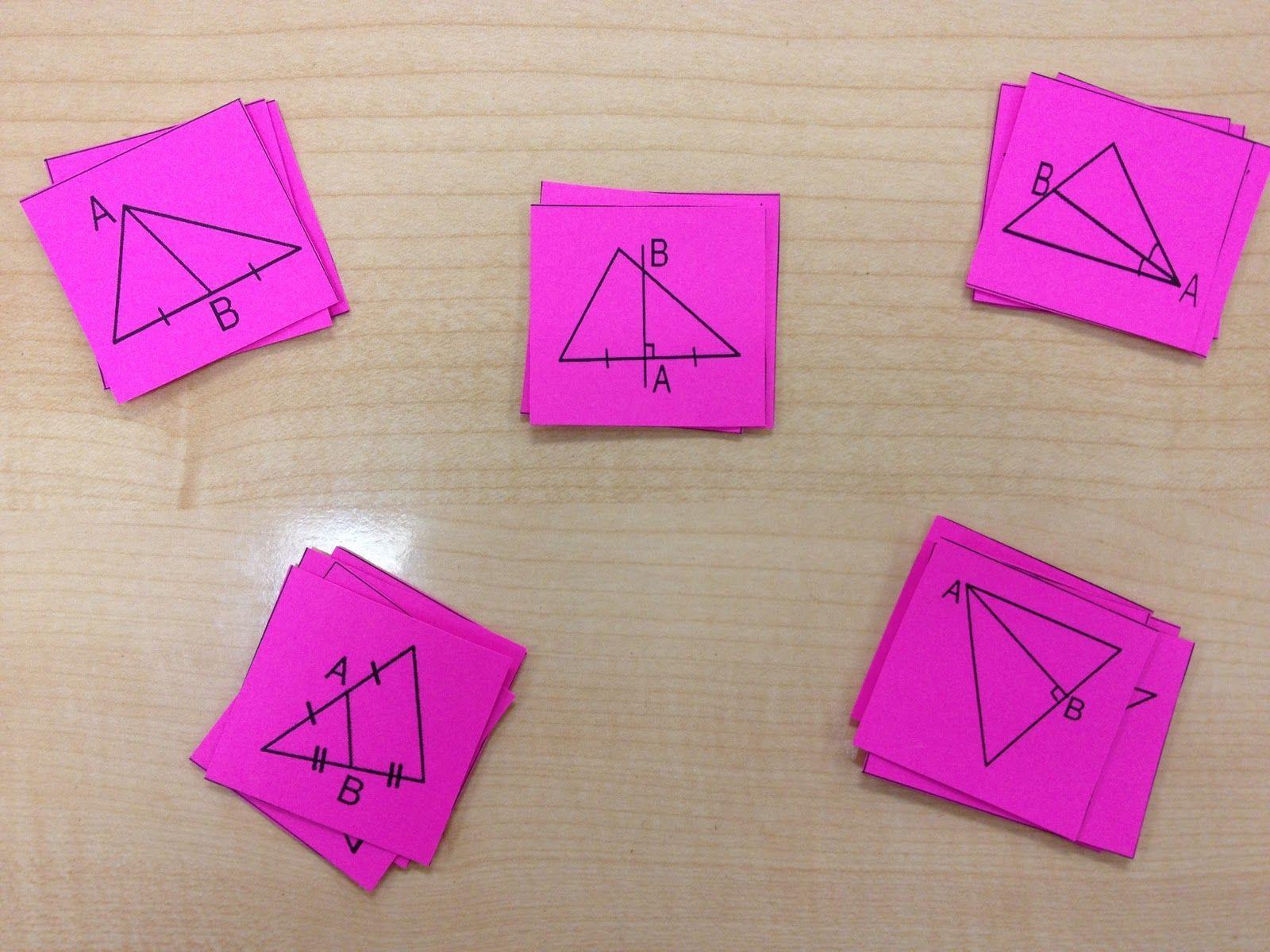 Misscalcul8 Geometry Card Sort Median Altitude