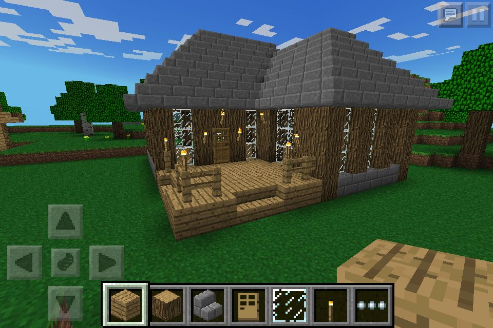 This Is Another House I Made On Minecraft PE! Minecraft