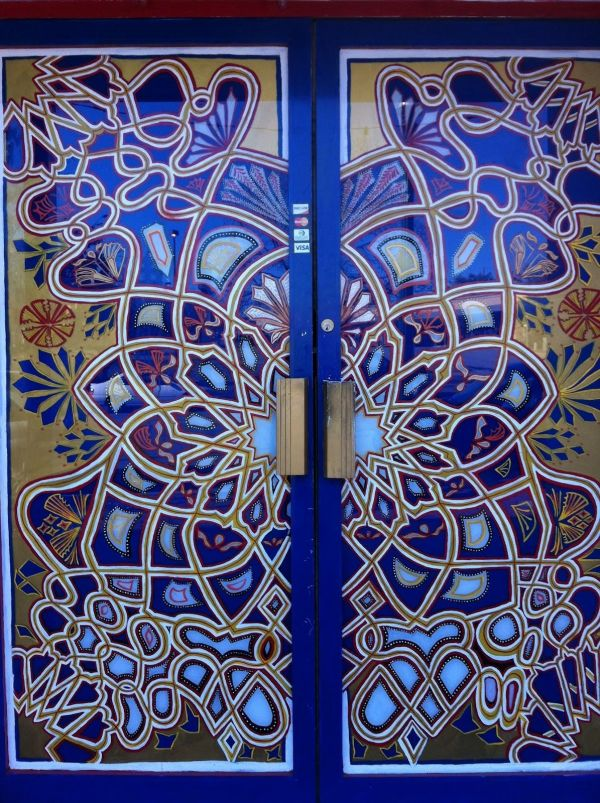 Stained Glass Door Morocco - ' Kind Of