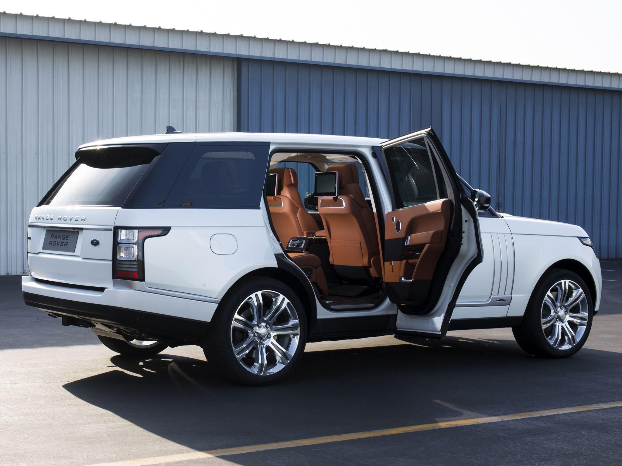 Hottest LA Debuts 2014 Range Rover LWB Autobiography Black