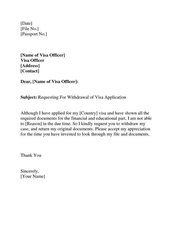 Cover Letter Visa Application Australia Write On Notebook