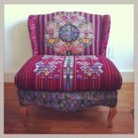 Teresa Bohemian Chic chair by Folk Project www.folk ...