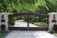 Farm house main gate designs landscape mediterranean with ...