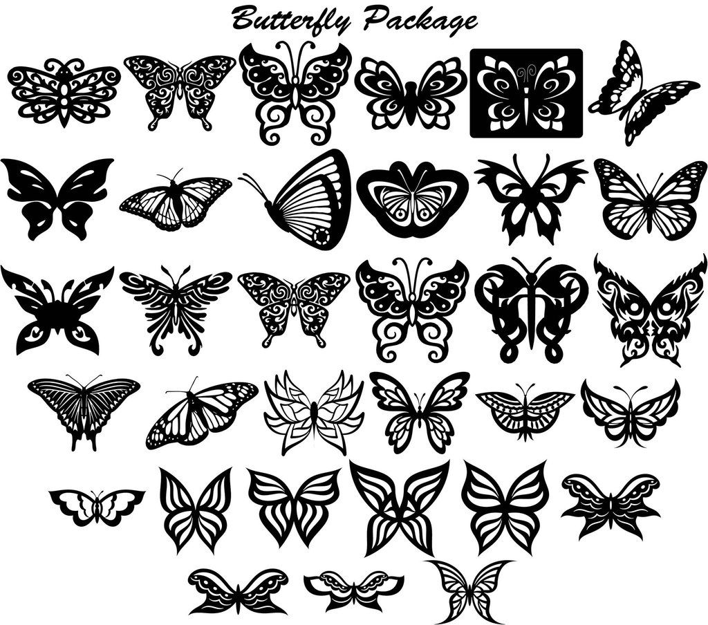 Butterfly Ornaments Decor