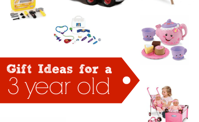 Birthday Gift Ideas For Three Years Old Imagination