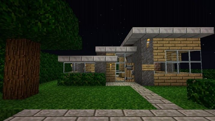 Architecture Ideas Simple Design Minecraft Small Modern House