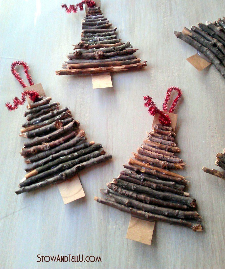 Homemade Christmas Decorations With Rustic Charm Christmas Trees