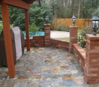 Beautiful Outdoor Tile Patio Slate | Recipes | Pinterest ...