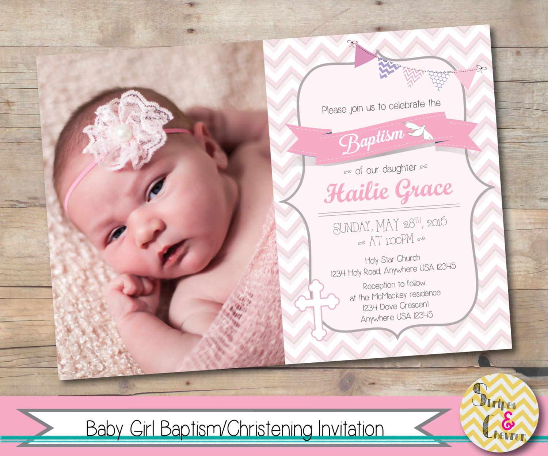 Invitation Card Baptism